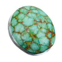 SONORAN GOLD Turquoise Cabochon Cab Natural Web Not Carico Lake 7.30 for Ring