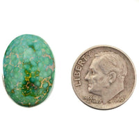 SONORAN GOLD Turquoise Cabochon Cab Natural Spiderweb Not Carico Lake 10.50ct