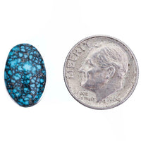 A+ ITHACA PEAK Kingman Turquoise Cabochon Cab Natural 6.2 Not Lone Mountain Gem