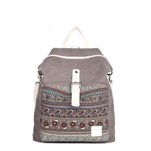 CONVERTIBLE CROSSBODY CANVAS BACKPACK [3 VARIANTS]