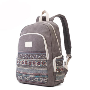 BIG CAPACITY TRAVEL CANVAS BACKPACK [3 VARIANTS]