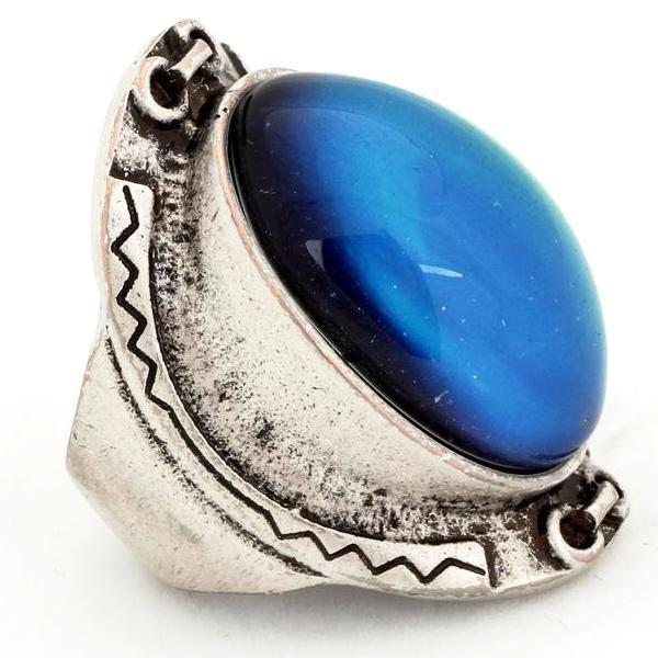 Bohemian Metal Mood Ring