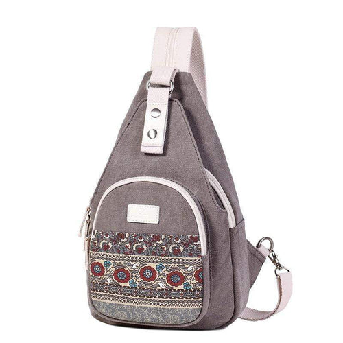 CONVERTIBLE SINGLE STRAP CANVAS BACKPACK [3 VARIANTS]