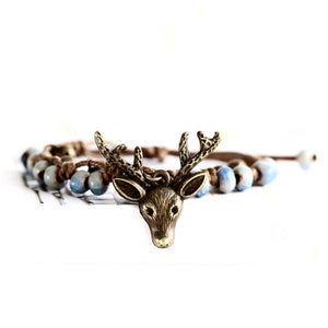 Ethnic Deer Ceramic Bracelets [3 Variants]