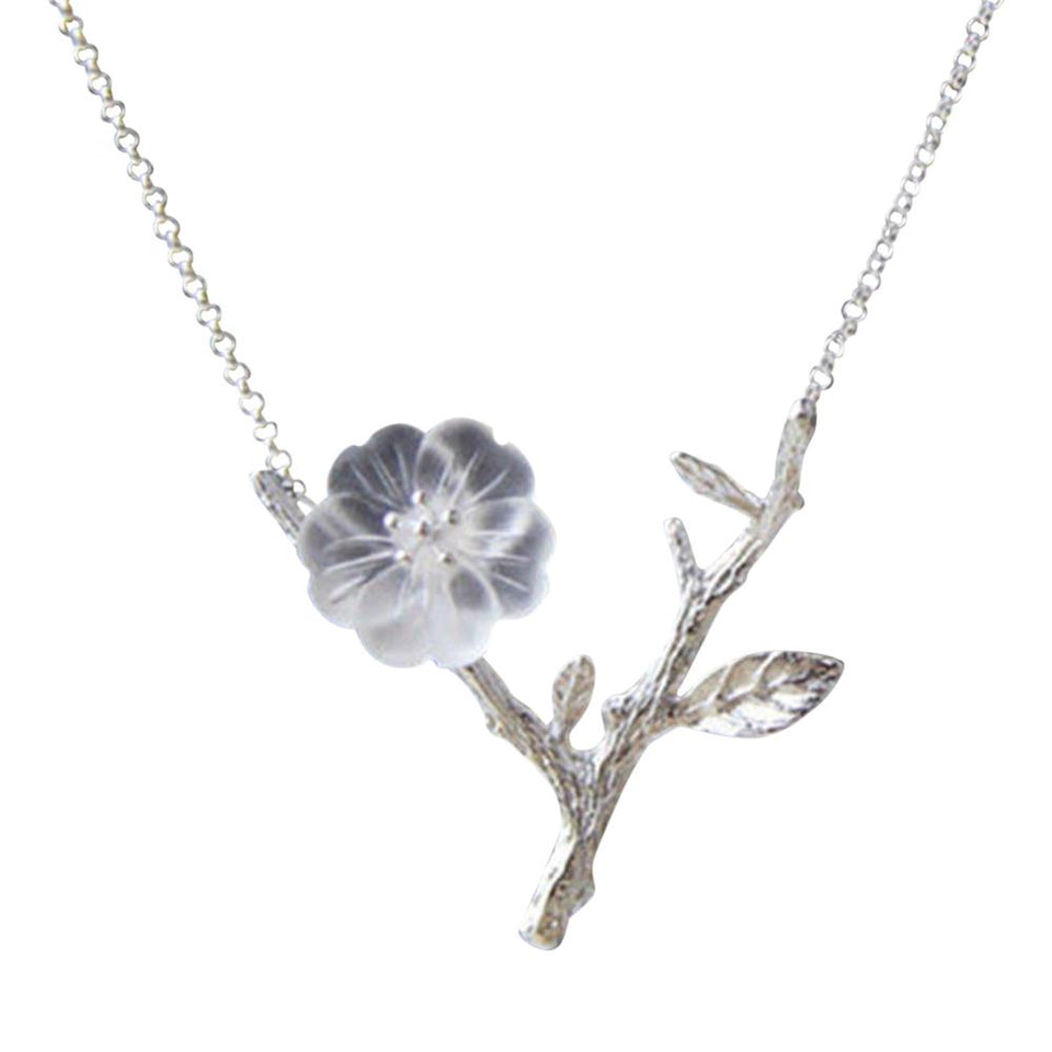 Dainty Diphelleia Grayi Sterling Silver Necklace [2 Variants]