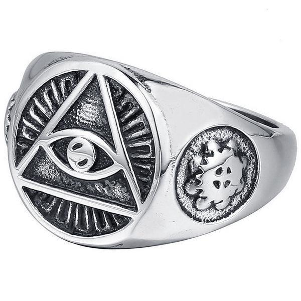 Eye of Providence Rings [2 Variants]