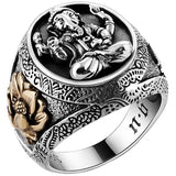Sumatran Marvel Luxury Silver Ring