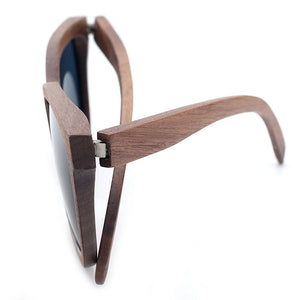 Taupe Walnut Facto Bamboo Wood Sunglasses