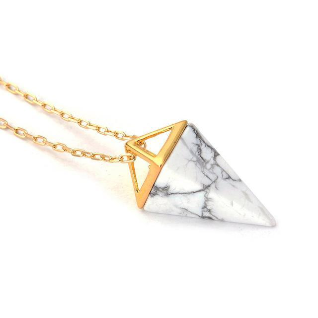 Healing Crystal Amulet Necklace [7 Stones]