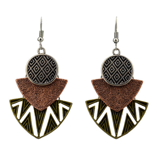Bold Boho Pendants Earrings