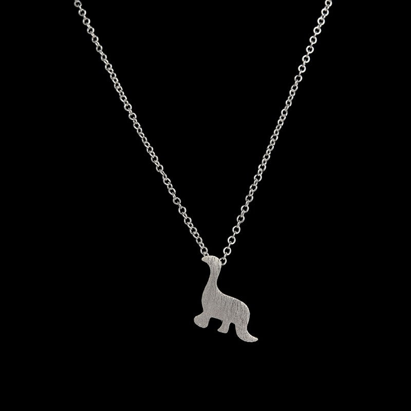 Dashing Dinosaur Pendant [Silver or Gold]
