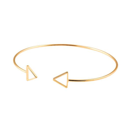 Classic Double Triangle Bangle [2 Variants]