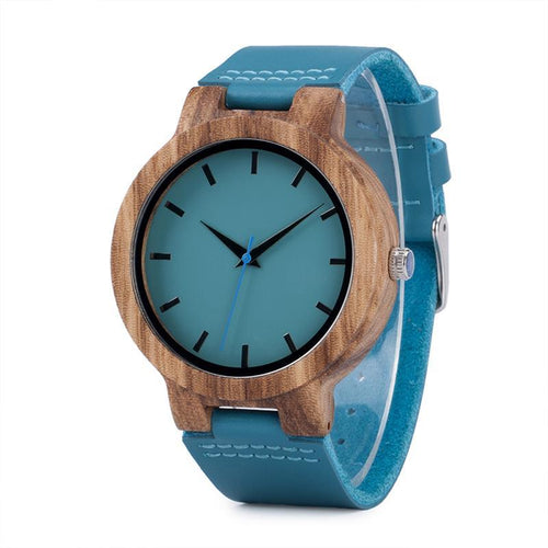 Minimal Color Bamboo Wooden Watch