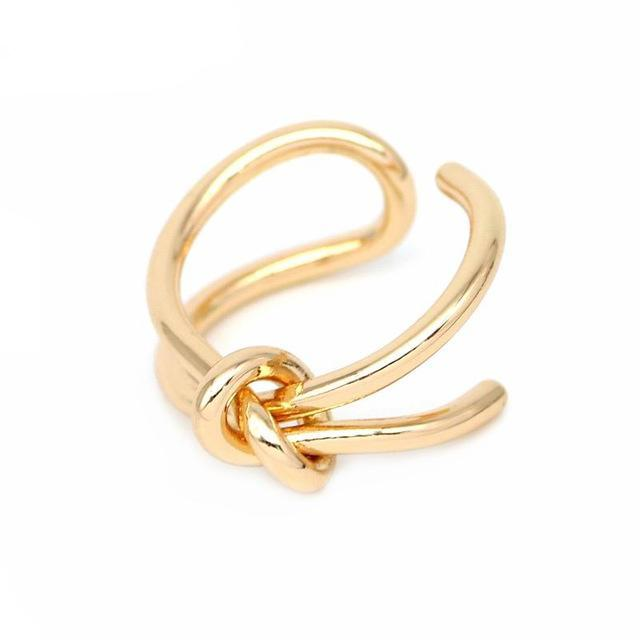 Running Bowline Knot Ring [2 Colors]