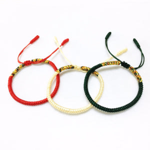 Team Italy Lucky String Stack Bracelets [Set of 3]