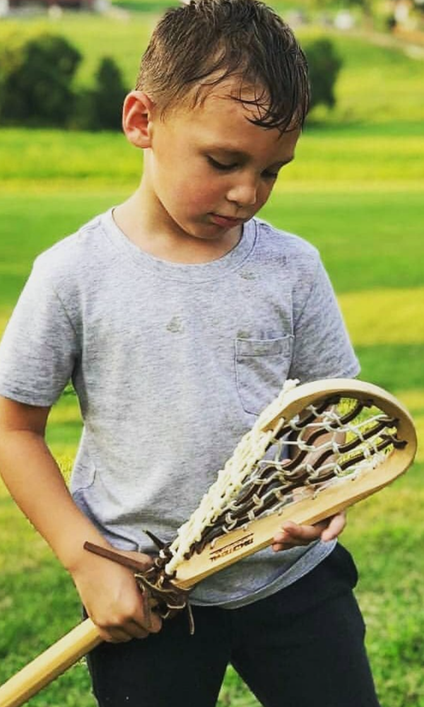 Youth Wooden Lacrosse Stick