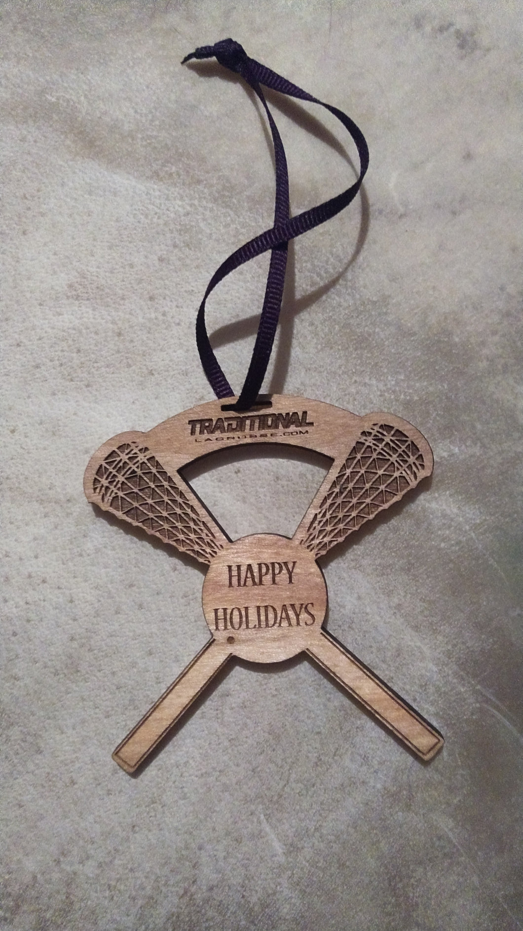 Laser Engraved ornament