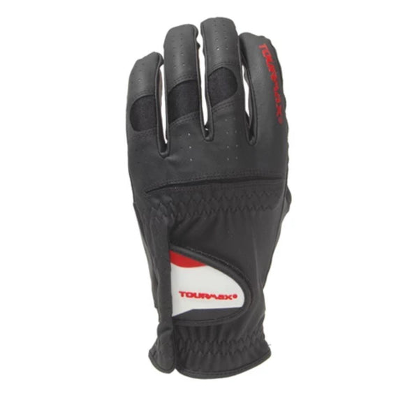 TourMax Black Men's Golf Glove (Left)(Regular) - Golf Country Online