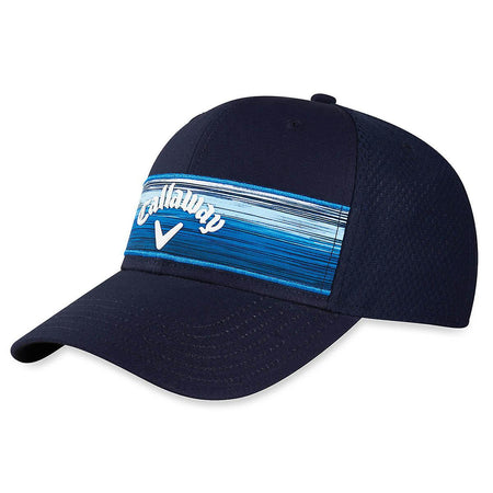 Callaway Golf 2020 Stripe Mesh Adjustable Hat - NAVY - Golf Country Online