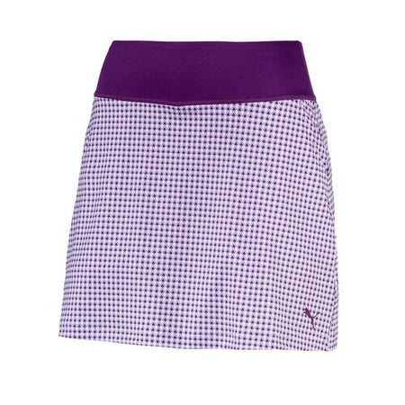 PUMA Golf Women's PWR Shape Dassler Knit Skirt - Majesty
