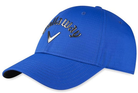 Callaway Golf Hat Liquid Metal (Adjustable, Royal, Mens Headwear)