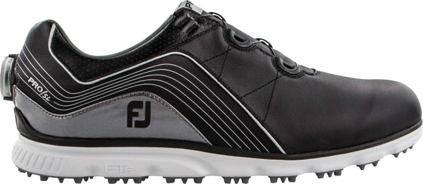 FootJoy Men's Pro/SL  Boa Golf Shoes Black/Grey - CLOSEOUTS (#53275) - Golf Country Online