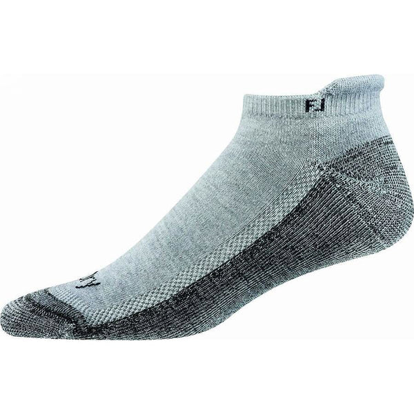 FootJoy Mens ProDry Roll Tab Sock - Grey - Golf Country Online
