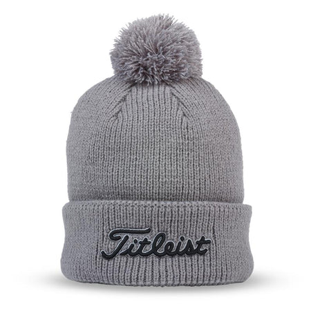 Titleist Pom Pom Winter Hat - GRAY - Golf Country Online