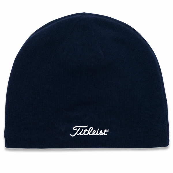 Titleist Nantucket Golf Beanie - Navy/White