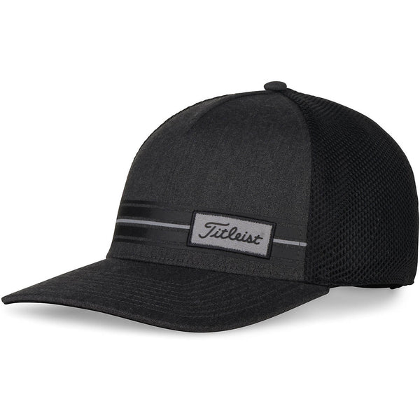 Titleist Surf Stripe Laguna Headwear Hat - Charcoal