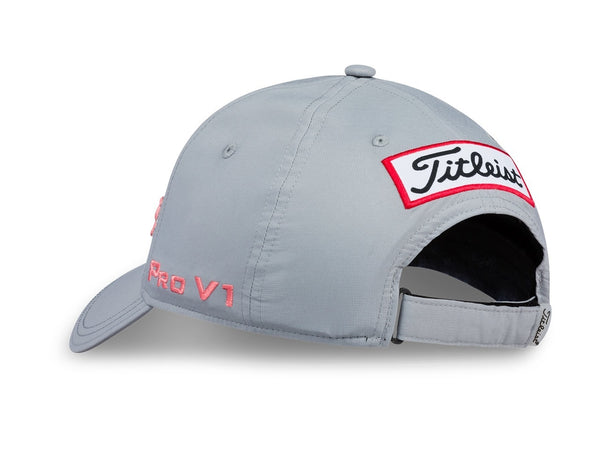 Titleist Golf- Ladies Tour Performance Ball Marker Cap Gray Collection (Grey/Pink) - Golf Country Online