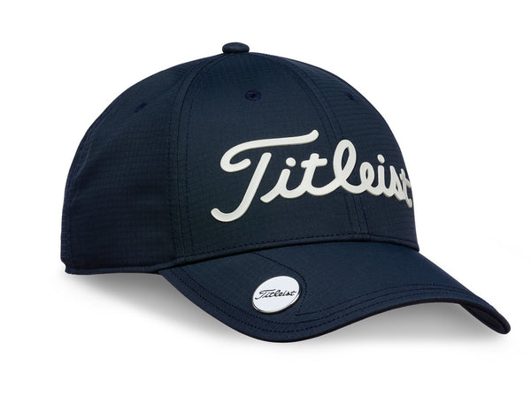 TITLEIST PERFORMANCE BALL MARKER GOLF HAT - NAVY - Golf Country Online
