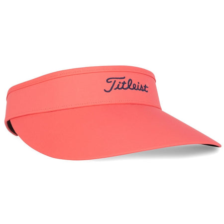 Titleist Golf- Ladies Sundrop Visor Trend Collection - Coral - Golf Country Online