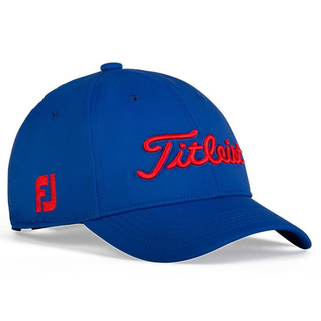 Titleist Golf- Junior Tour Performance Cap Trend Collection - ROYAL/RED