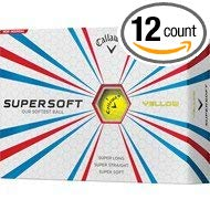 Callaway Supersoft Yellow Low Compression Golf Balls - Golf Country Online