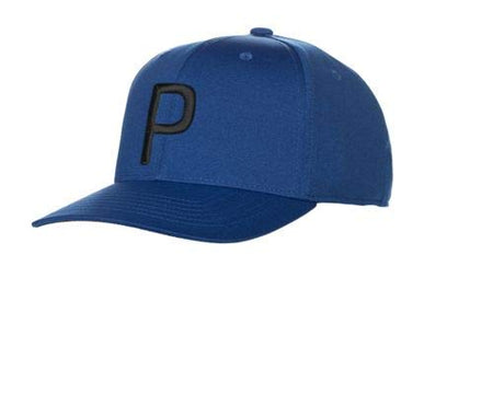 "Puma Golf ""P"" 110 Snapback Hat (One Size) - Surf the Web - Golf Country Online"