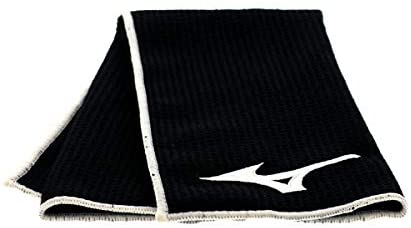 Mizuno Microfiber Cart Towel, Black
