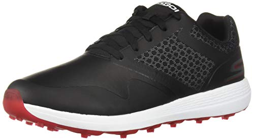 SKECHERS MEN'S MAX GOLF SHOE - BLACK (54542BKRD)