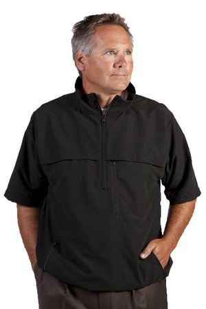 The Otter Company Francestown Short-Sleeve Pullover (Black)