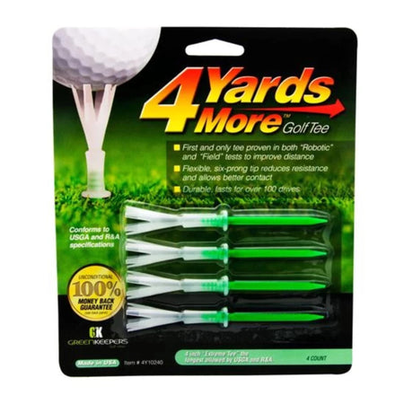 "4 Yards More Golf Tees - 4"" - Golf Country Online"