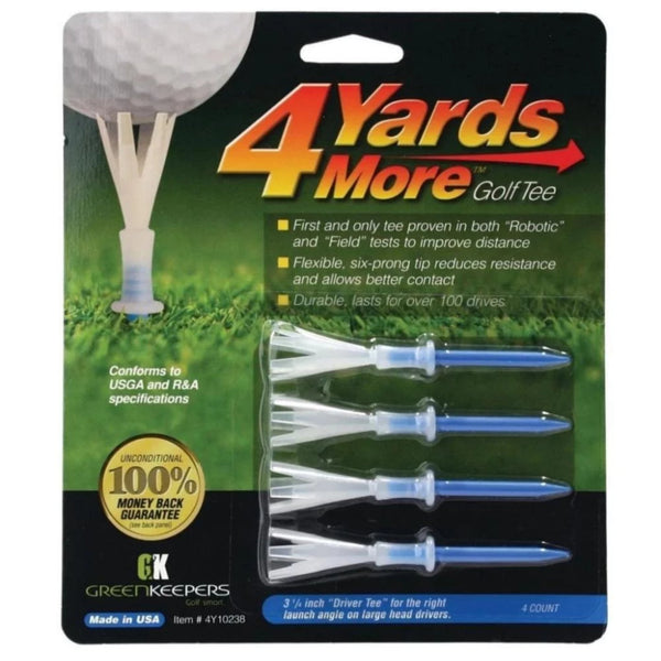 4 Yards More Golf Tees - 3 1/4