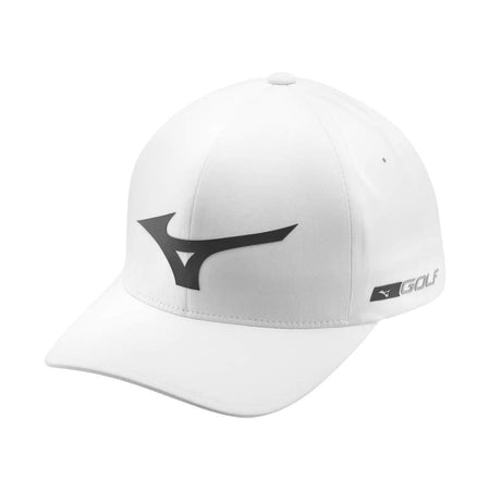 Mizuno Tour Delta Golf Hat, White-Grey - Golf Country Online