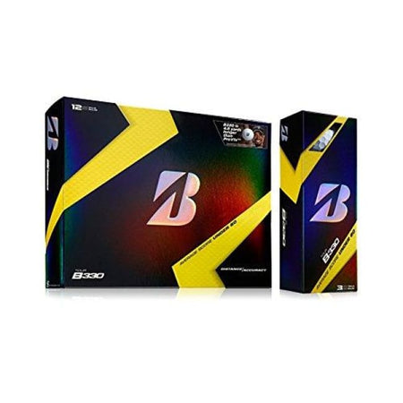 Bridgestone Golf 2017 B330 Limited Edition B Mark Balls (One Dozen Balls) - Golf Balls