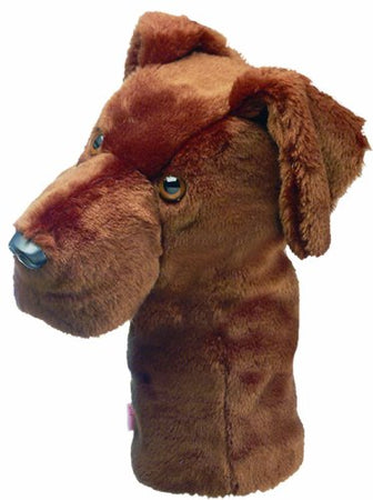 Daphne's Headcovers Chocolate Lab Headcover - Golf Country Online