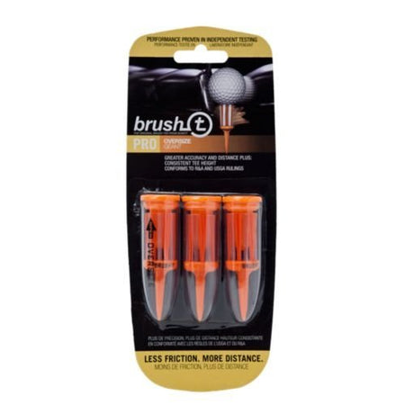 Brush-T Bristle Tee- Oversize - 3 Pack - Golf Country Online