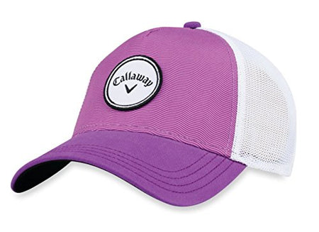 Callaway 2018 Trucker Hat Ladies Purple Adjustable - Golf Country Online
