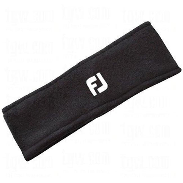 FootJoy Golf Fleece Head/Ear Band - Black - Golf Country Online