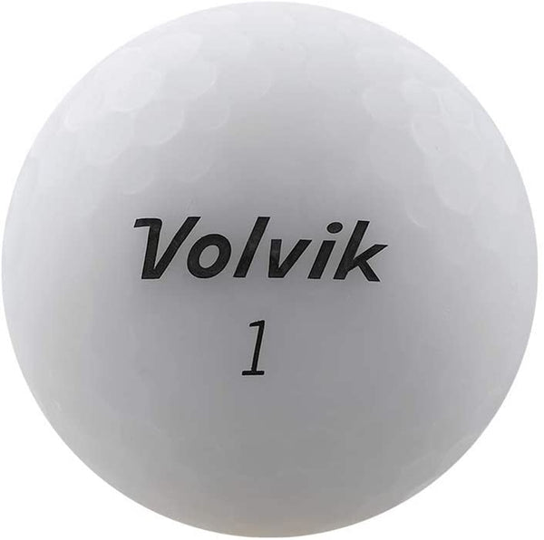 Volvik New Vivid Golf Balls - Matte White