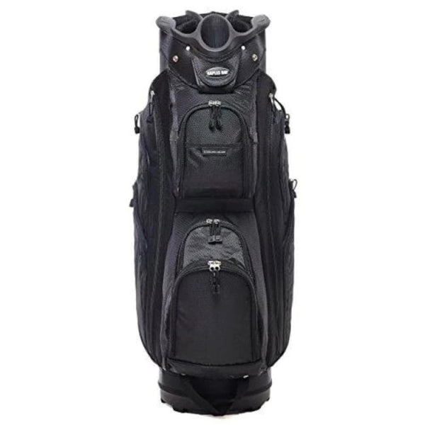 Naples Bay Golf Bud Ii Blk Budrow Ii Golf Cart Bag Black - Golf Bags