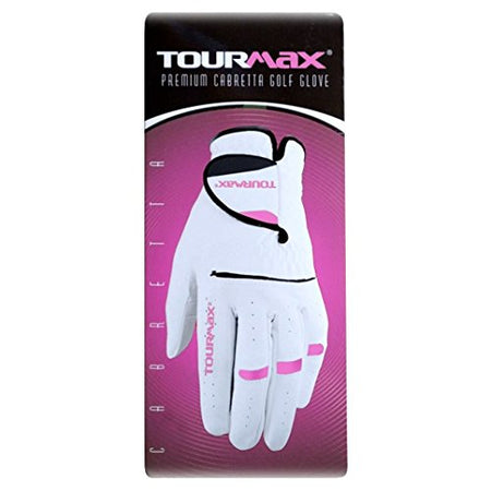 TourMax Ladies White Golf Glove - Golf Country Online